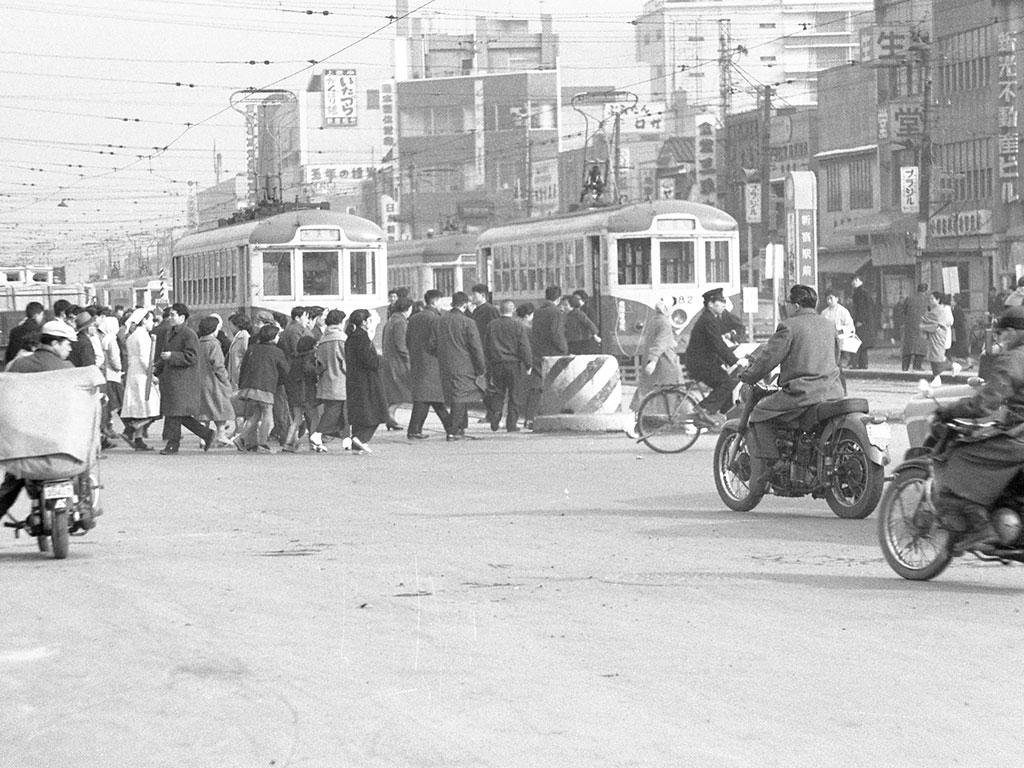 都電 新宿駅前 昭和30年代