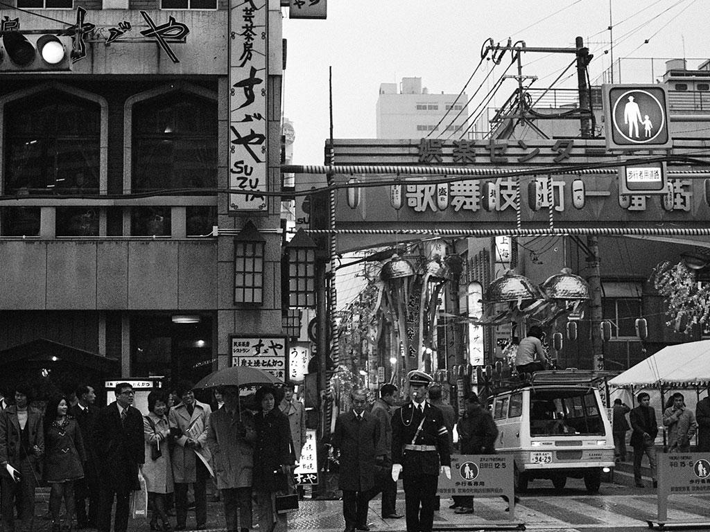 歌舞伎町一番街 昭和47年頃