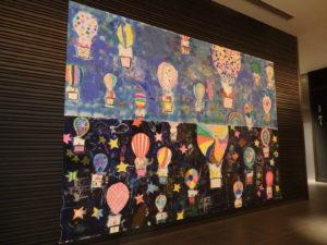 蟹江杏さんが子どもたちと描いた作品