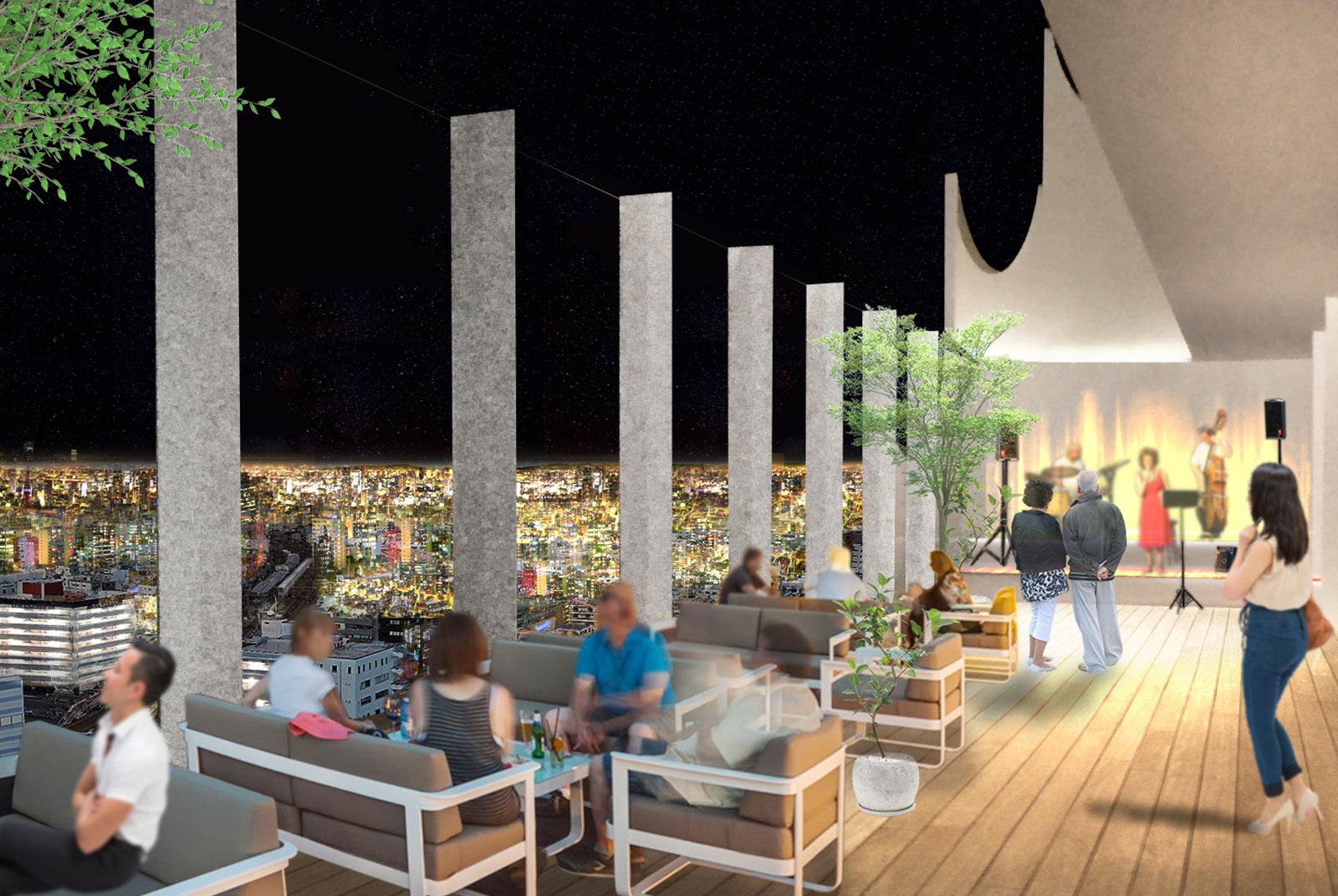 「まちの社交場」となるレストラン(イメージ)