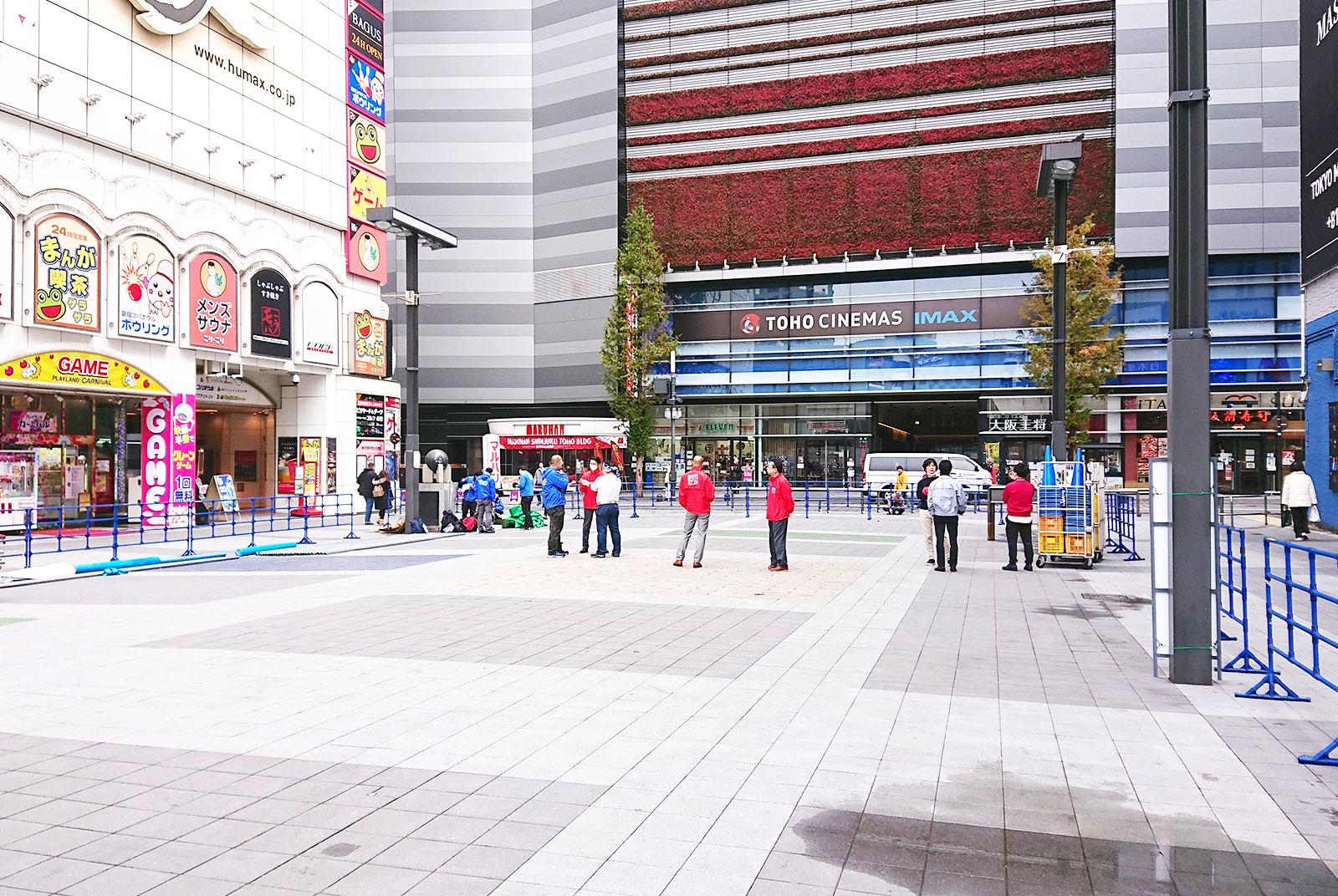 歌舞伎町シネシティ広場