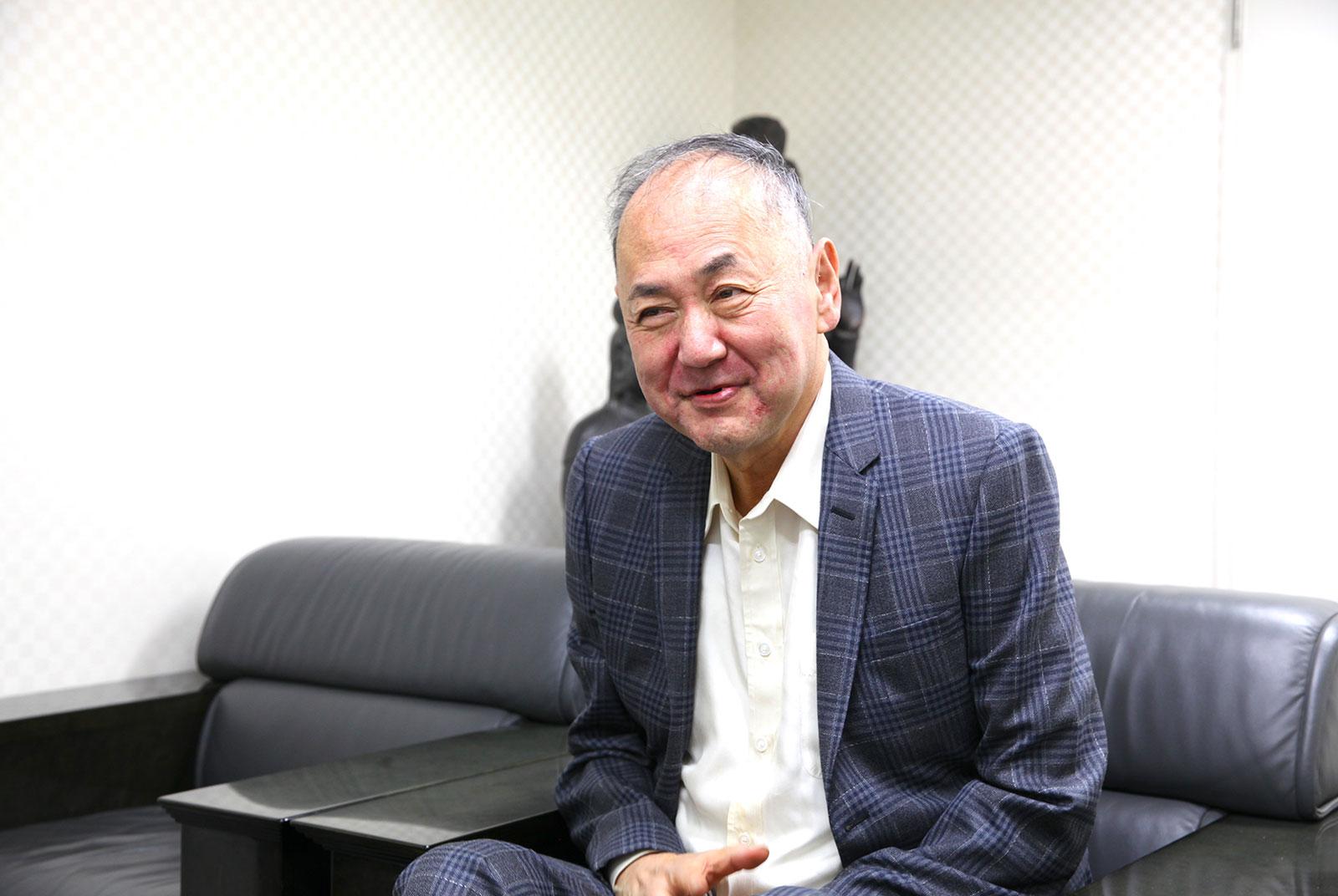河野義勝代表取締役社長