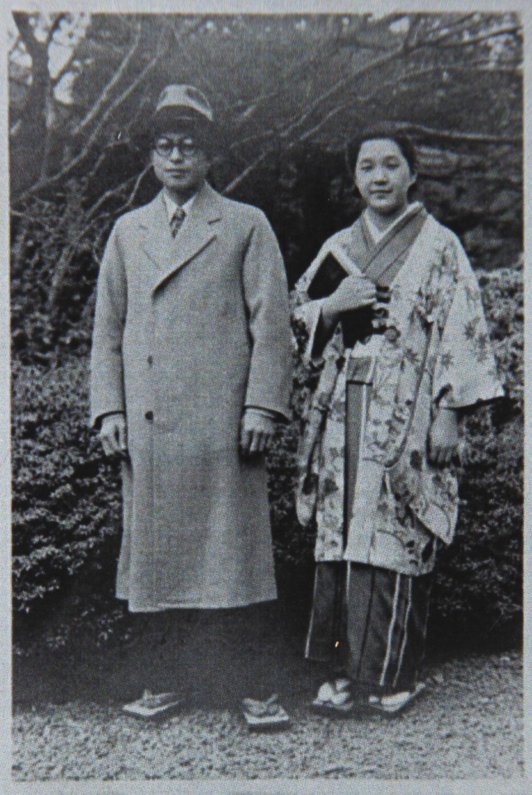 鈴木喜一郎さん、華子さん夫妻