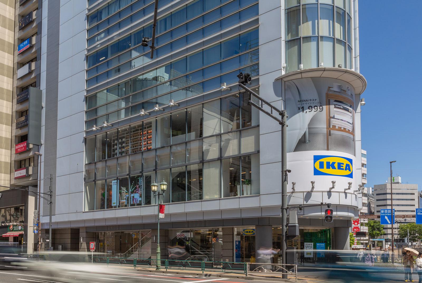 「IKEA新宿」外観