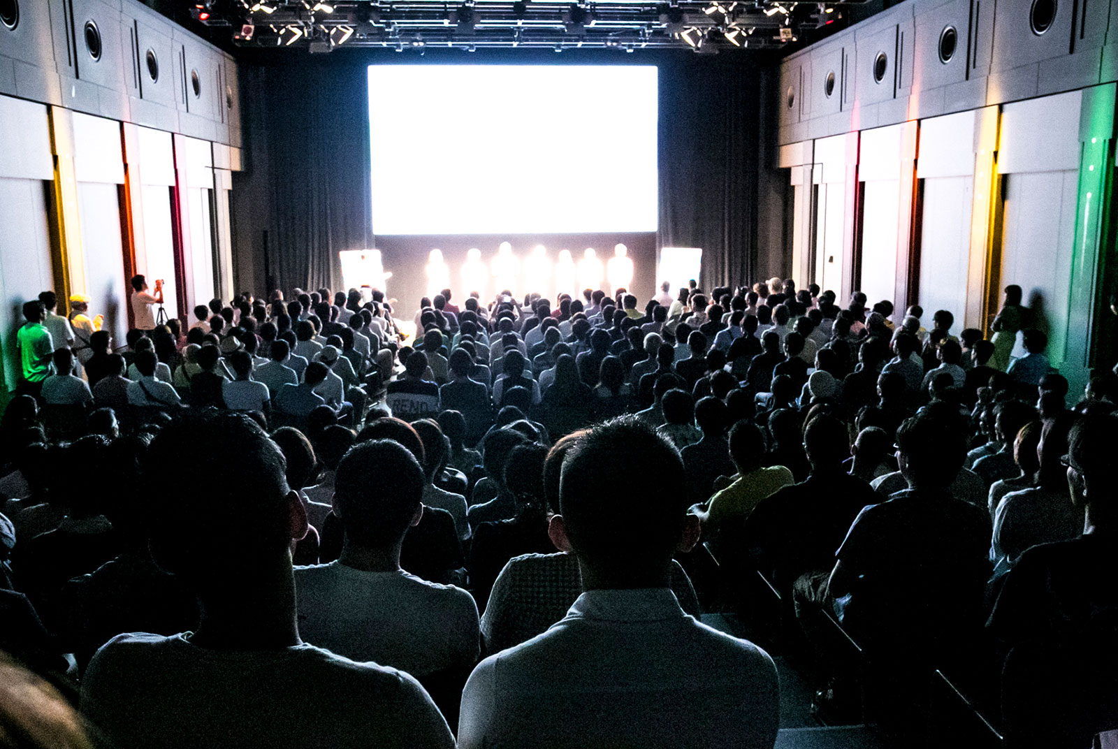 過去に開催した「レインボー・リール東京」。会場の様子