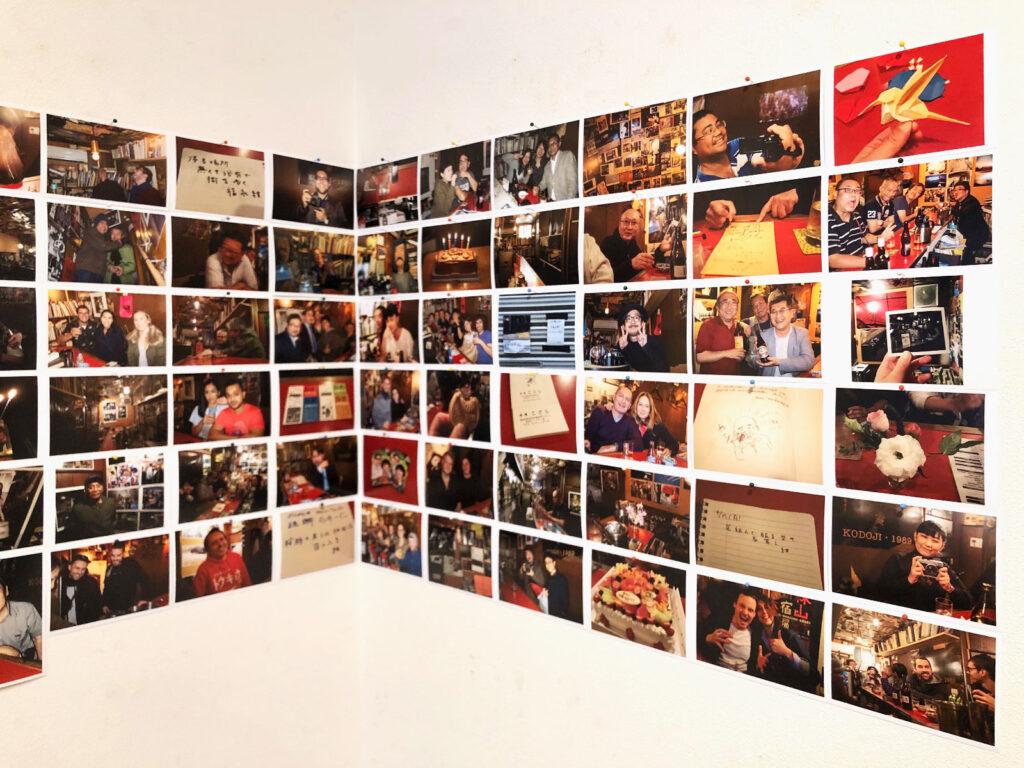 吉祥寺の書店「一日」で行った写真展の様子